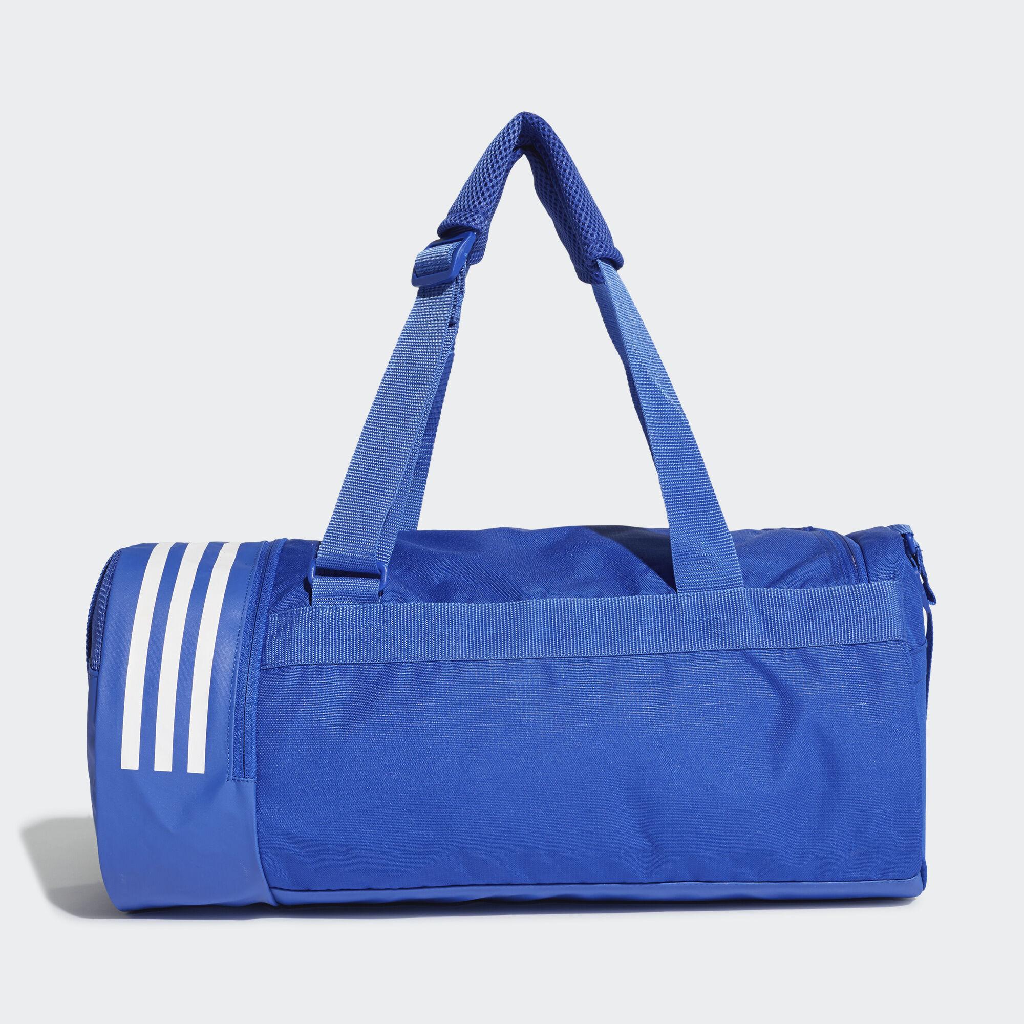 adidas Convertible 3-Stripes Duffel Bag Small - Black  e0457858b43c9