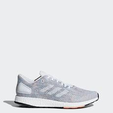 75d9f72141 adidas - Sapatos Pureboost DPR Grey   Ftwr White   Chalk Coral B75670 ...