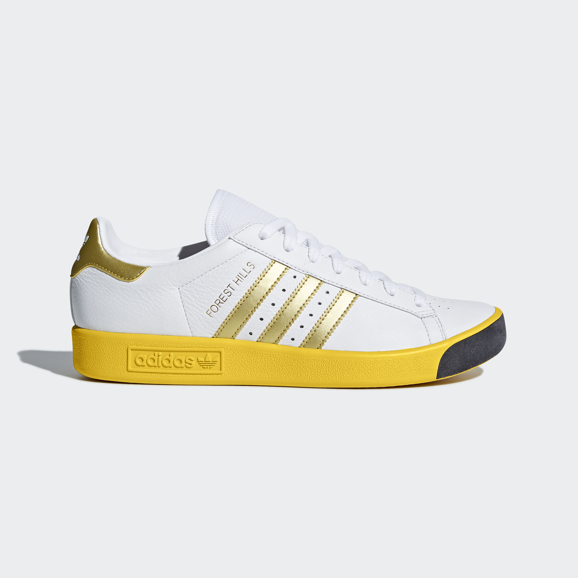sports shoes ec0ab bfb16 ... reduced adidas forest hills shoes ftwr white gold metallic eqt yellow  cq2083. originals 2fd63 83f3d