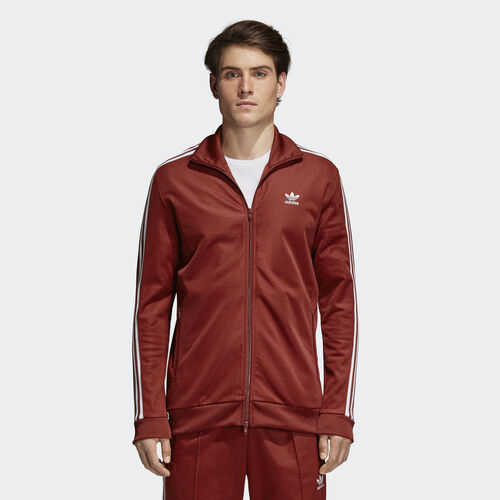 adidas - BB Track Jacket Rust Red CW1251