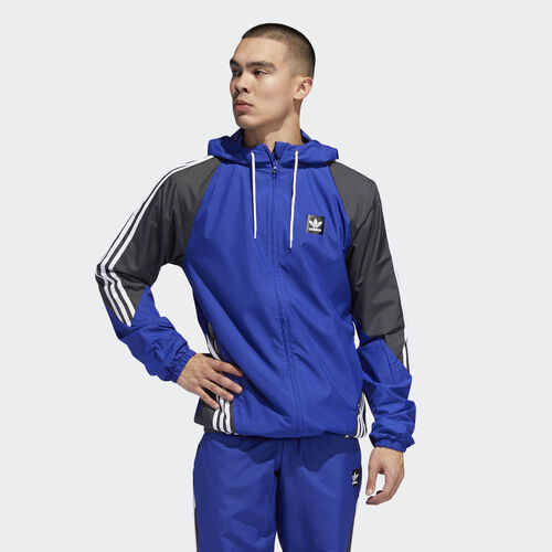 adidas - Insley Jacket Active Blue / Dgh Solid Grey / White DU8336