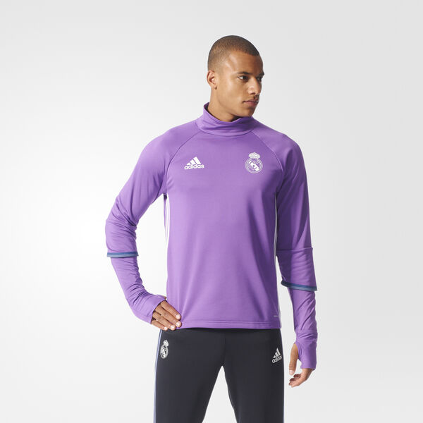 Real Madrid Training Top Roxo AO3131