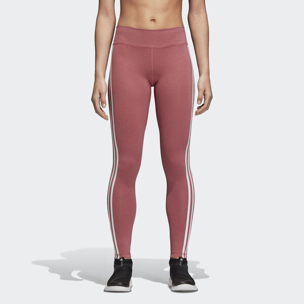 Leggings Believe This 3-Stripes Vermelho CZ7954