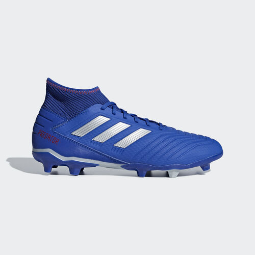 adidas - Predator 19.3 Firm Ground Boots Bold Blue / Silver Met. / Active Red BB8112