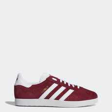 adidas - Sapatos Gazelle Collegiate Burgundy   Ftwr White   Ftwr White  B41645 ... 6b5cce9543838
