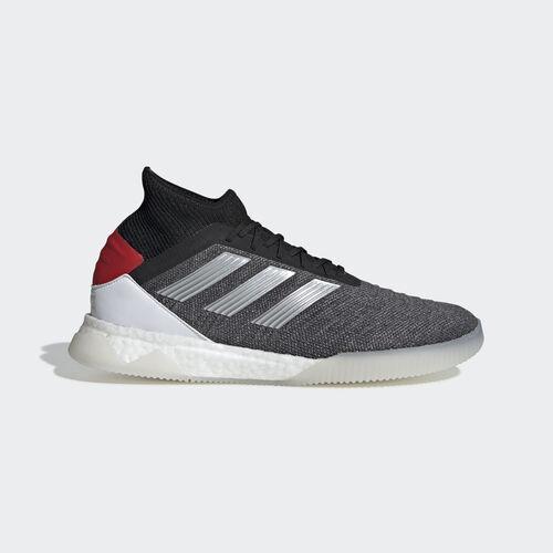 adidas - Predator 19.1 Trainers Dark Grey Heather / Matte Silver / Active Red D98058