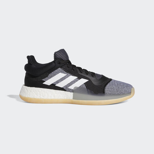 adidas - Marquee Boost Low Shoes Core Black / Ftwr White / Shock Cyan D96932