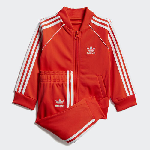 adidas - SST Track Suit Active Orange / White DV2822