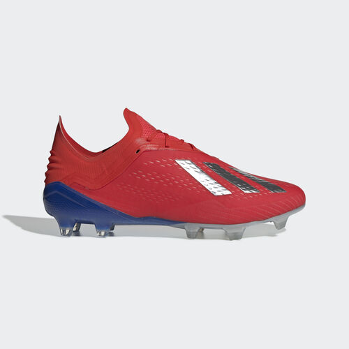 adidas - X 18.1 Firm Ground Boots Active Red / Silver Met. / Bold Blue BB9347