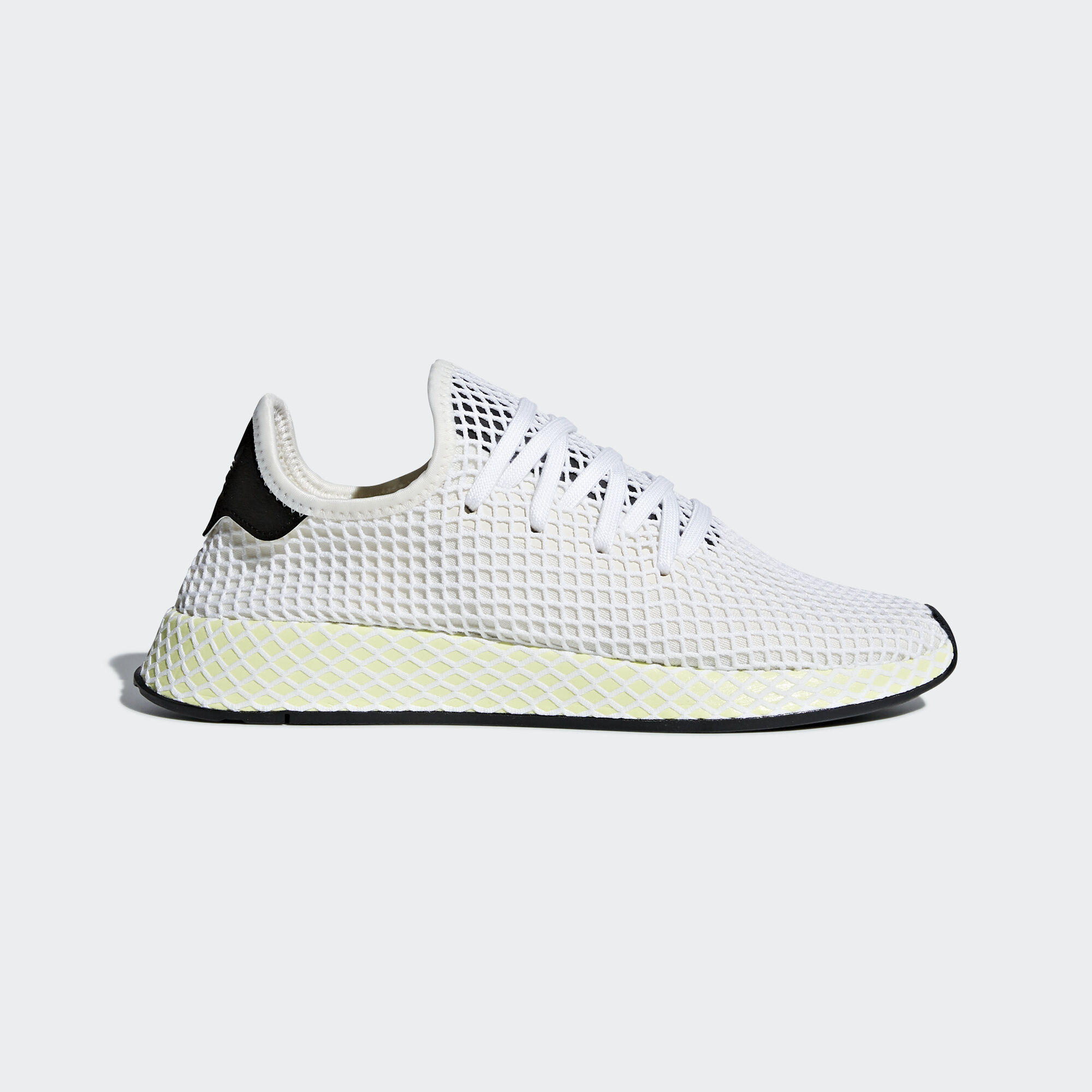 pretty nice 65e18 fb091 adidas - Deerupt Runner Shoes Chalk WhiteCore BlackCore Black CQ2629