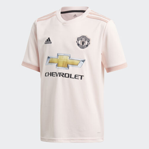 adidas - Manchester United Away Jersey Icey Pink / Trace Pink / Black CG0055