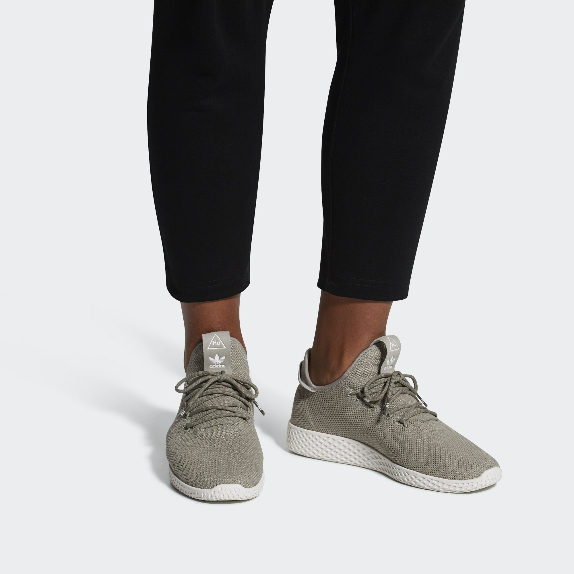 adidas Pharrell Williams Tennis Hu Shoes - White  014c76f03