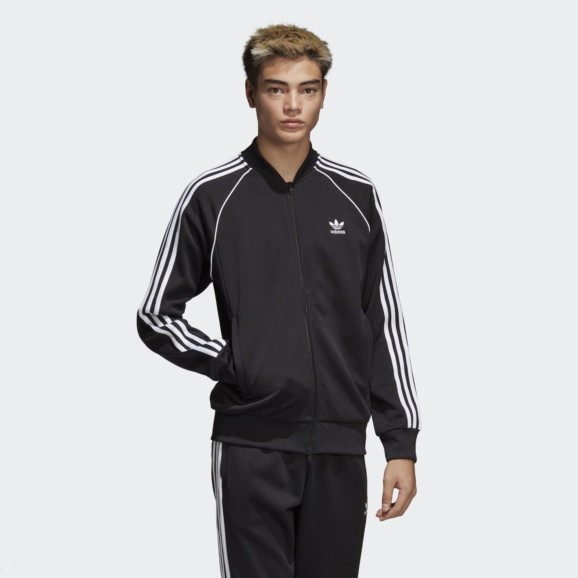 adidas SST Track Jacket - Black | adidas Asia/Middle East