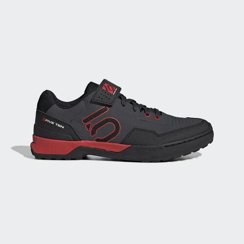 adidas - Five Ten Mountain Bike Kestrel Lace Shoes Black / Core Black / Red BC0637
