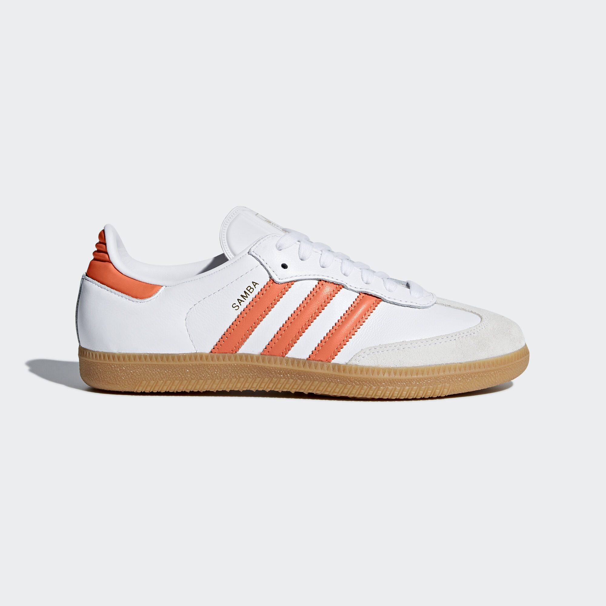 Addidas White With Gold Women Shoes