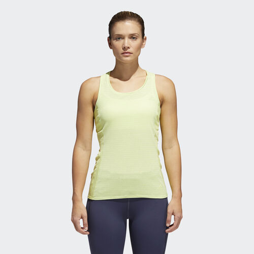adidas - Supernova 37c Tank Top Semi Frozen Yellow CG1118