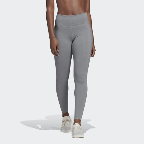 adidas - Believe This High-Rise Heathered Tights Grey CV8427
