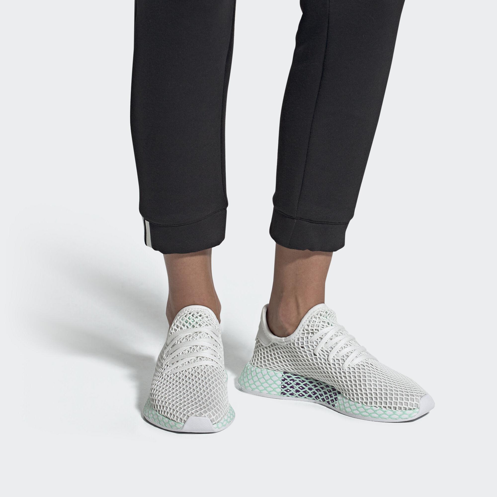 best sneakers 07169 14ba3 adidas Deerupt Runner Shoes - Purple  adidas UK