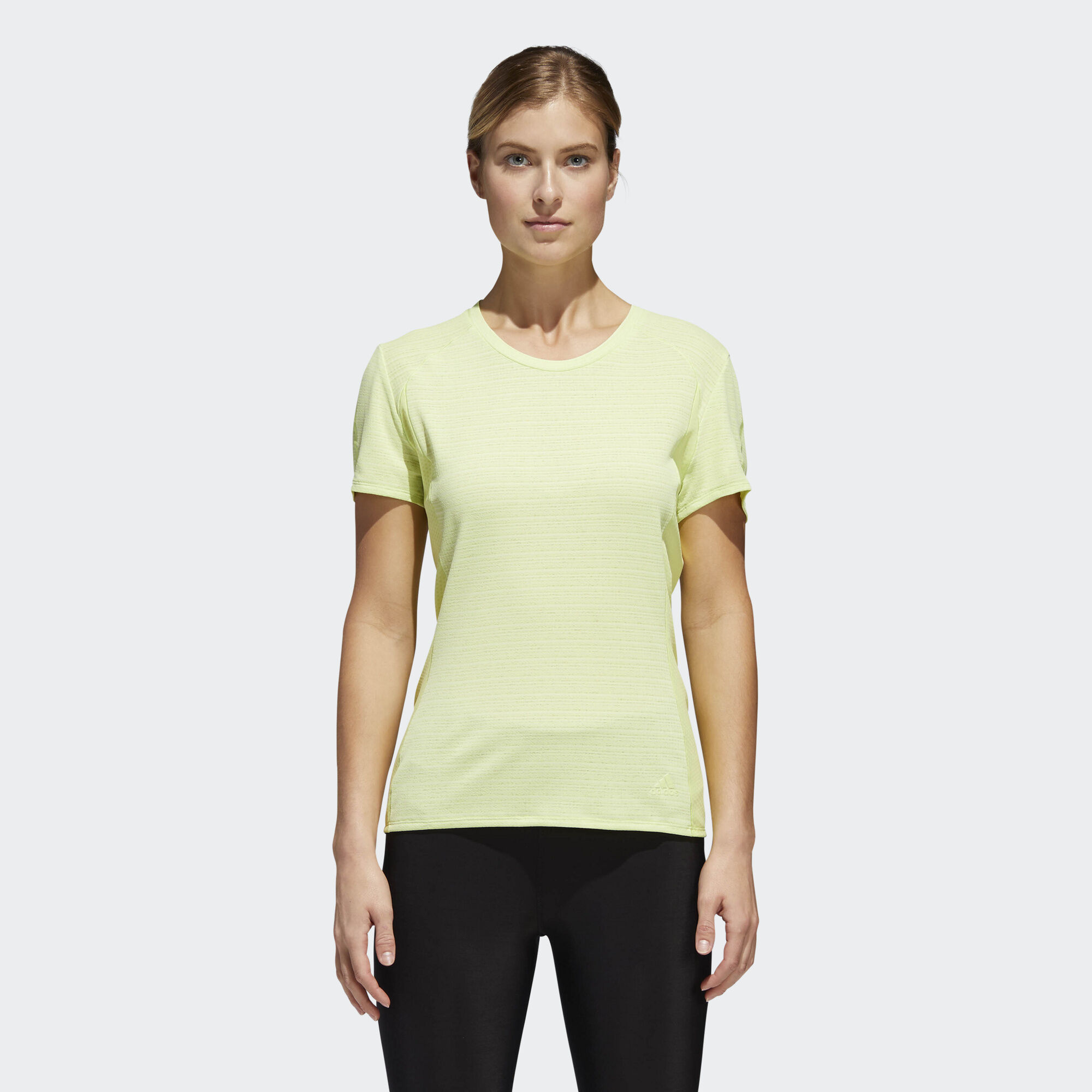 adidas - Supernova 37c Tee Semi Frozen Yellow CG1084. Women Running 3b07dca0d5