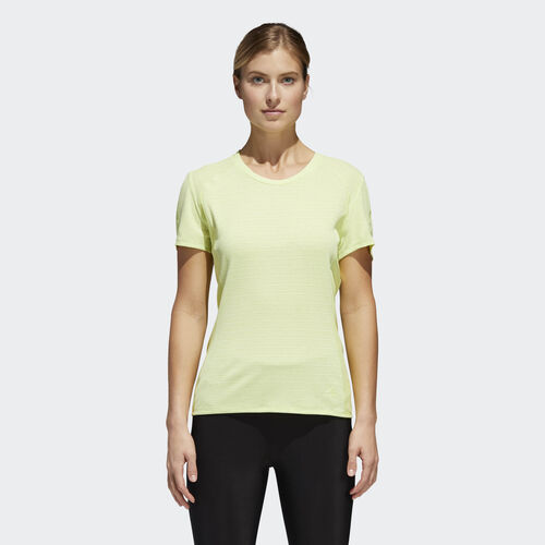 adidas - Supernova 37c Tee Semi Frozen Yellow CG1084