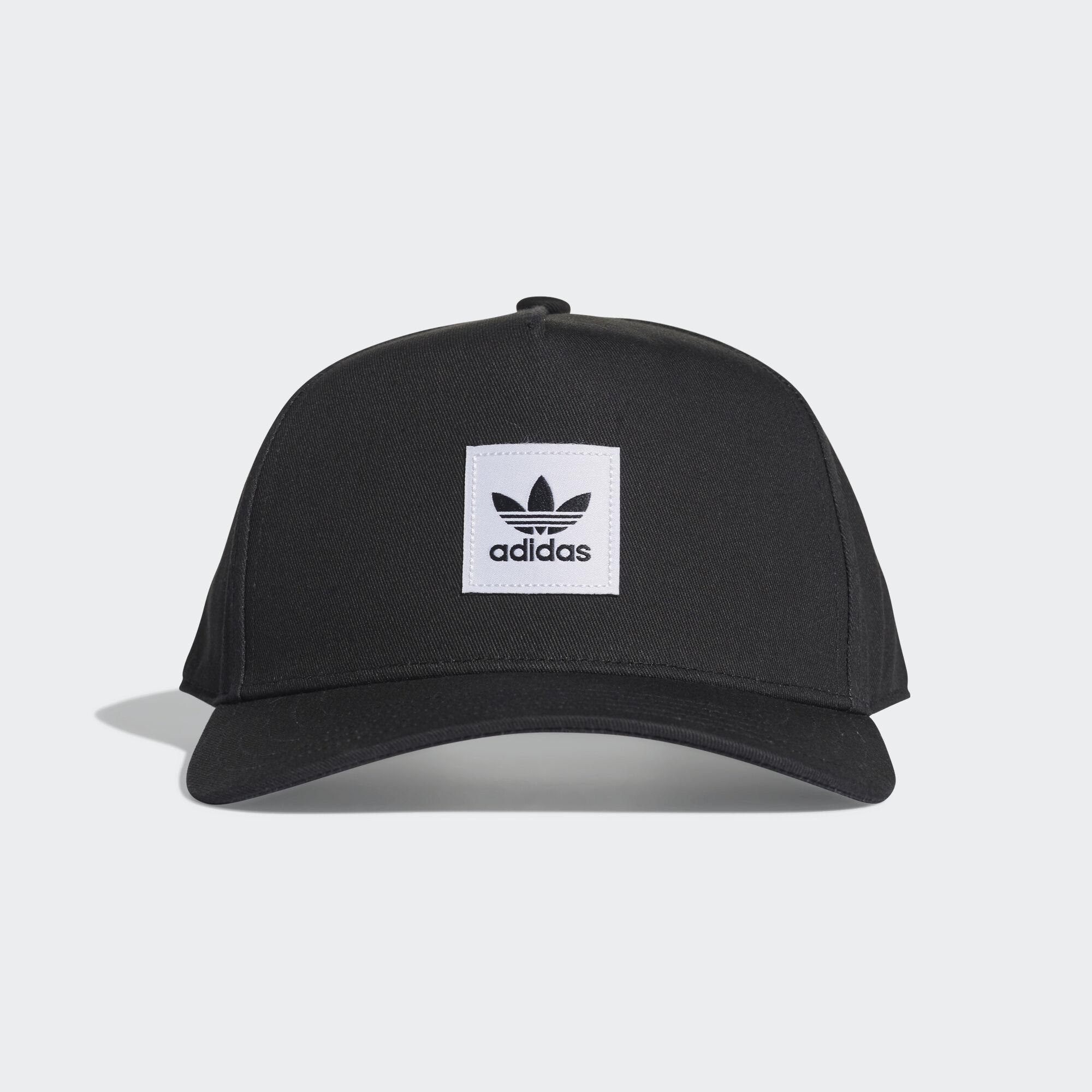 adidas - A-frame Cap Black   White DU6796. Originals 4410fe23b41