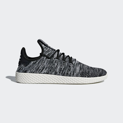adidas - Sapatos Pharrell Williams Tennis Hu Primeknit Core Black/Ftwr White CQ2630