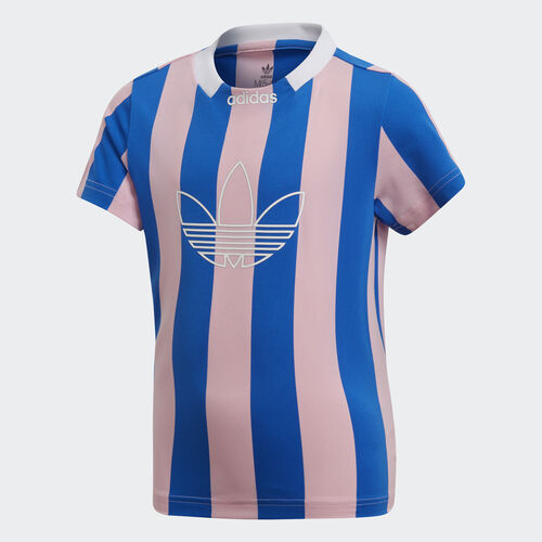 adidas - Stripes Jersey True Pink / Blue DV2869