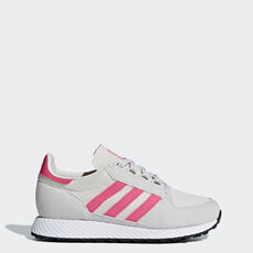 adidas - Forest Grove Shoes Chalk White   Real Pink   Grey One B37744 7daac0b20fe