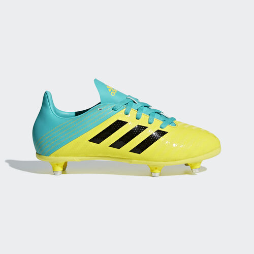 adidas - Malice SG Junior Boots Shock Yellow / Core Black / Hi-Res Aqua AC7740