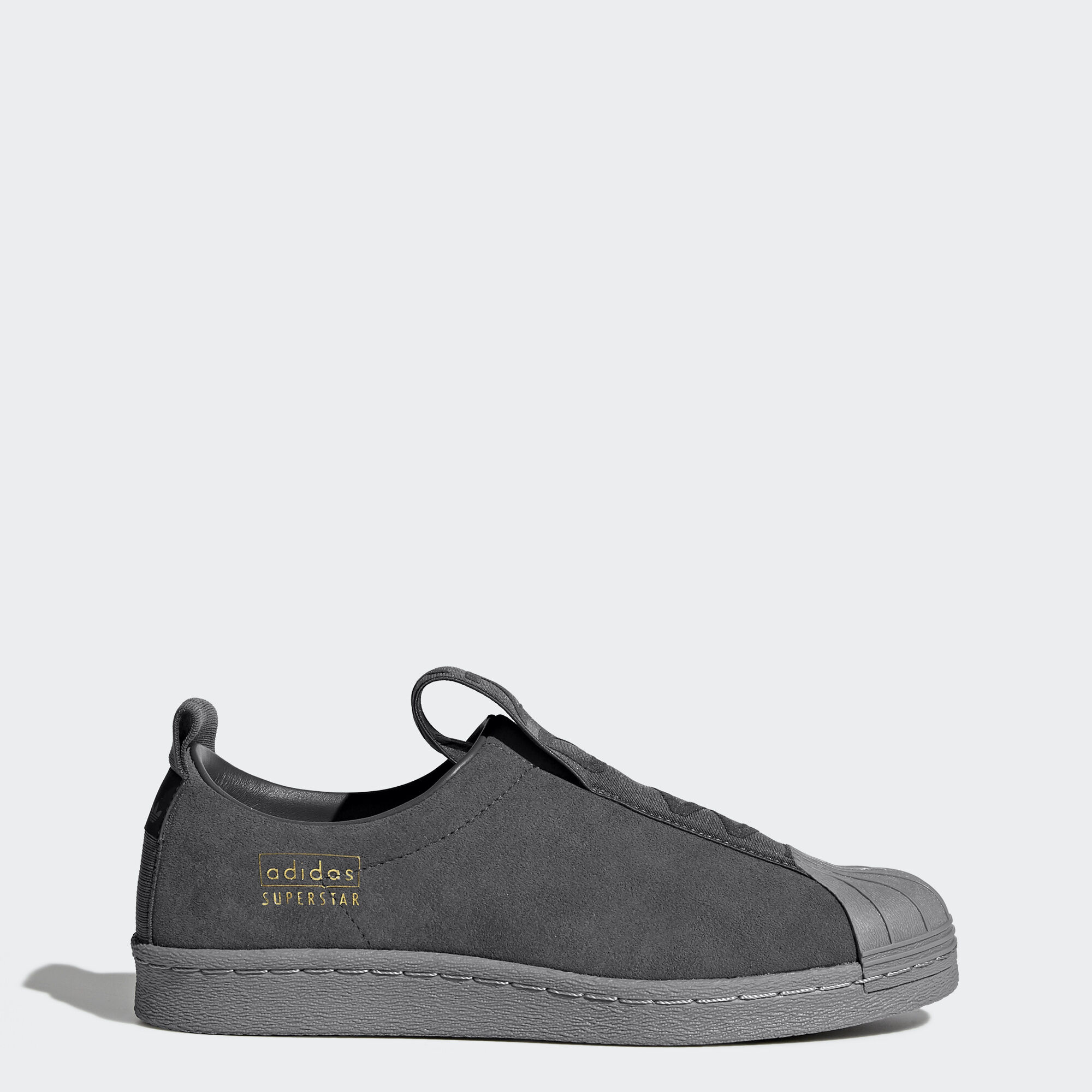 adidas - Superstar BW Slip-On Shoes Grey Five/Grey Three CG3695