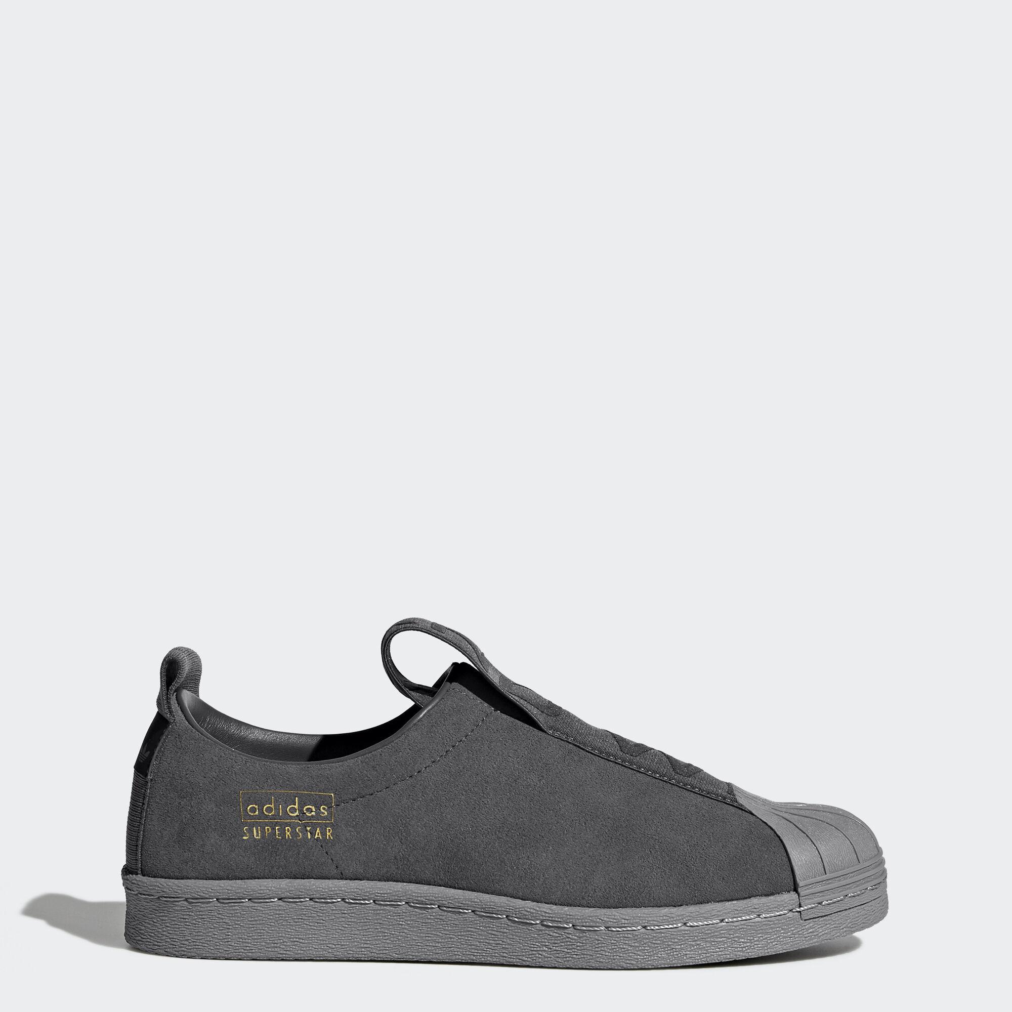 adidas - Superstar BW Slip-On Shoes Grey Five/Grey Three CG3695