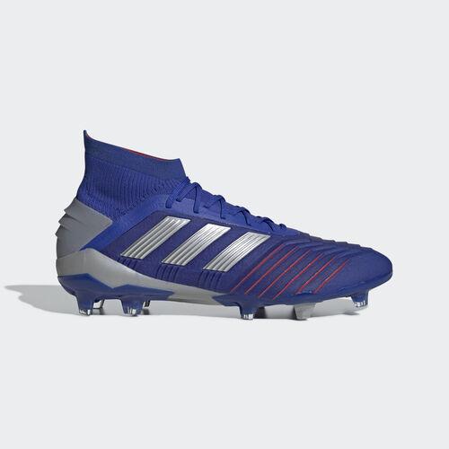 adidas - Predator 19.1 Firm Ground Boots Bold Blue / Silver Met. / Football Blue BB9079