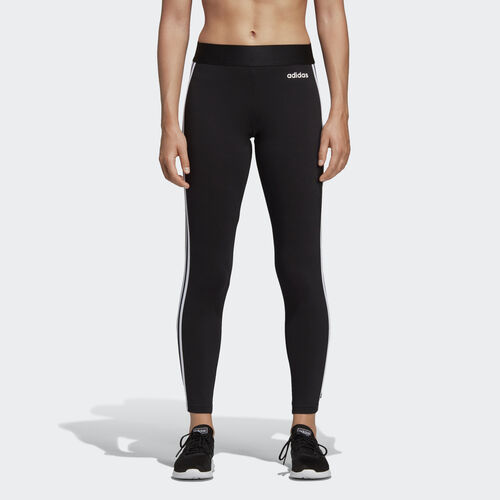 adidas - Essentials 3-Stripes Tights Black / White DP2389