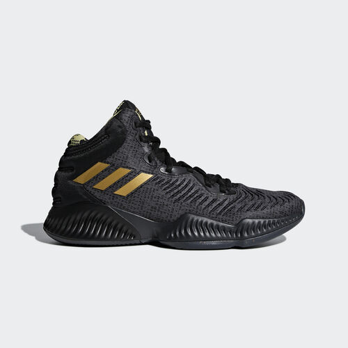 adidas - Mad Bounce 2018 Shoes Core Black / Gold Met. / Carbon B41870