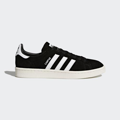 adidas - Campus Shoes Core Black/Footwear White/Chalk White BZ0084