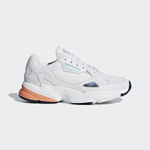 adidas - Falcon Shoes Crystal White / Crystal White / Easy Orange B37845