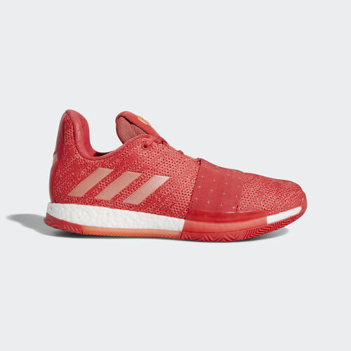 adidas - Harden Vol. 3 Shoes Chalk Coral / Chalk Coral / Chalk Coral D96990