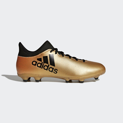 adidas - X 17.3 Firm Ground Boots Tactile Gold Met./Core Black/Solar Red CP9190