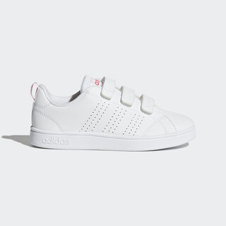 VS Advantage Clean Shoes Cloud White / Cloud White / Super Pink BB9978